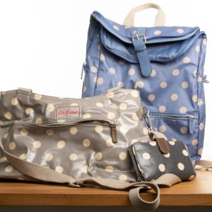 Cluster of Cath Kidston bags
