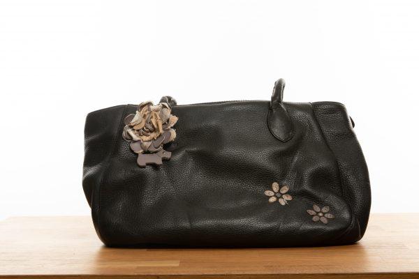 Black Leather Radley Bag